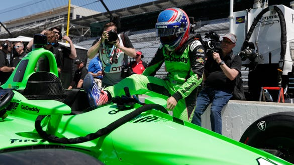 Mario Andretti praises Danica Patrick for closing her career with Indy 500
