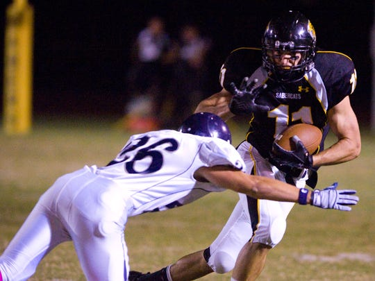 In a photo dated Oct. 16, 2009, Scottsdale Saguaro's