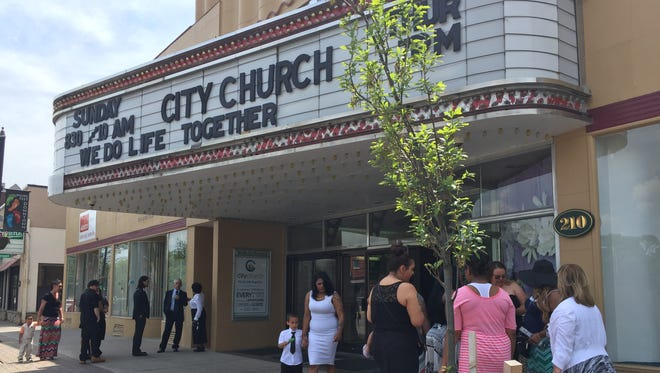Hundreds gathered at City Church in Batavia Saturday to remember Micah and Michael Gard. The twins died in a house fire on May 20, 2016.