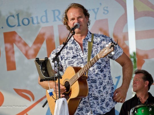 Matt Velline performed July 19 at Summertime By George! in St. Cloud.