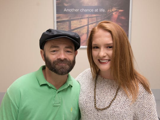 Amelia Murphree has been with her father, Tim, every step of the way in his journey to receive a pancreas-kidney transplant.