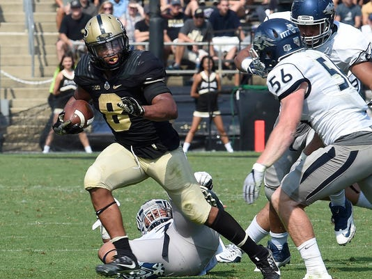 NCAA Football: Nevada at Purdue