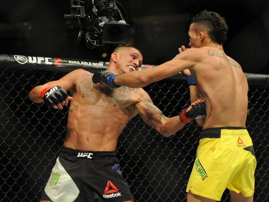 MMA: UFC Fight Night-Pettis vs Oliveria