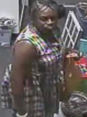 Orangetown police is looking for the unidentified woman who entered My Own Little Corner Antique Shop, at 142 Main St., last Saturday around 1 p.m. and stole more than two dozen gold rings, according to authorities.