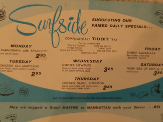 The Surfside Restaurant and Coffee Shop was located