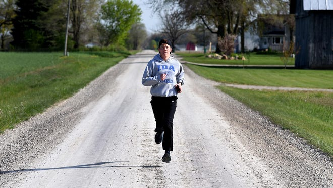 Hunter Assenmacher, who won his third state wrestling title and was named Monroe County Region Boys Cross Country Runner of the Year, has been named the 2019-20 Monroe County Region Boys Athlete of the Year.
