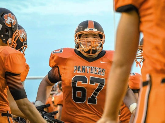 File photos from the Ladwig family of Bryce Ladwig. The photos depict the time when he was under treatment for a bone cancer along with his love of football.