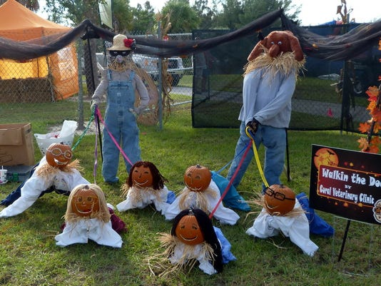 Scarecrows in the Park