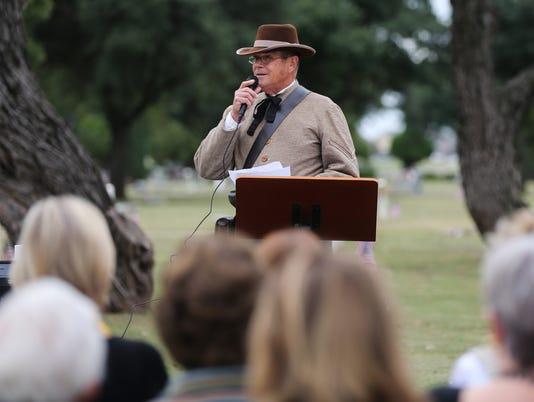 Veterans Day Ceremony at Fairmount Cemetery