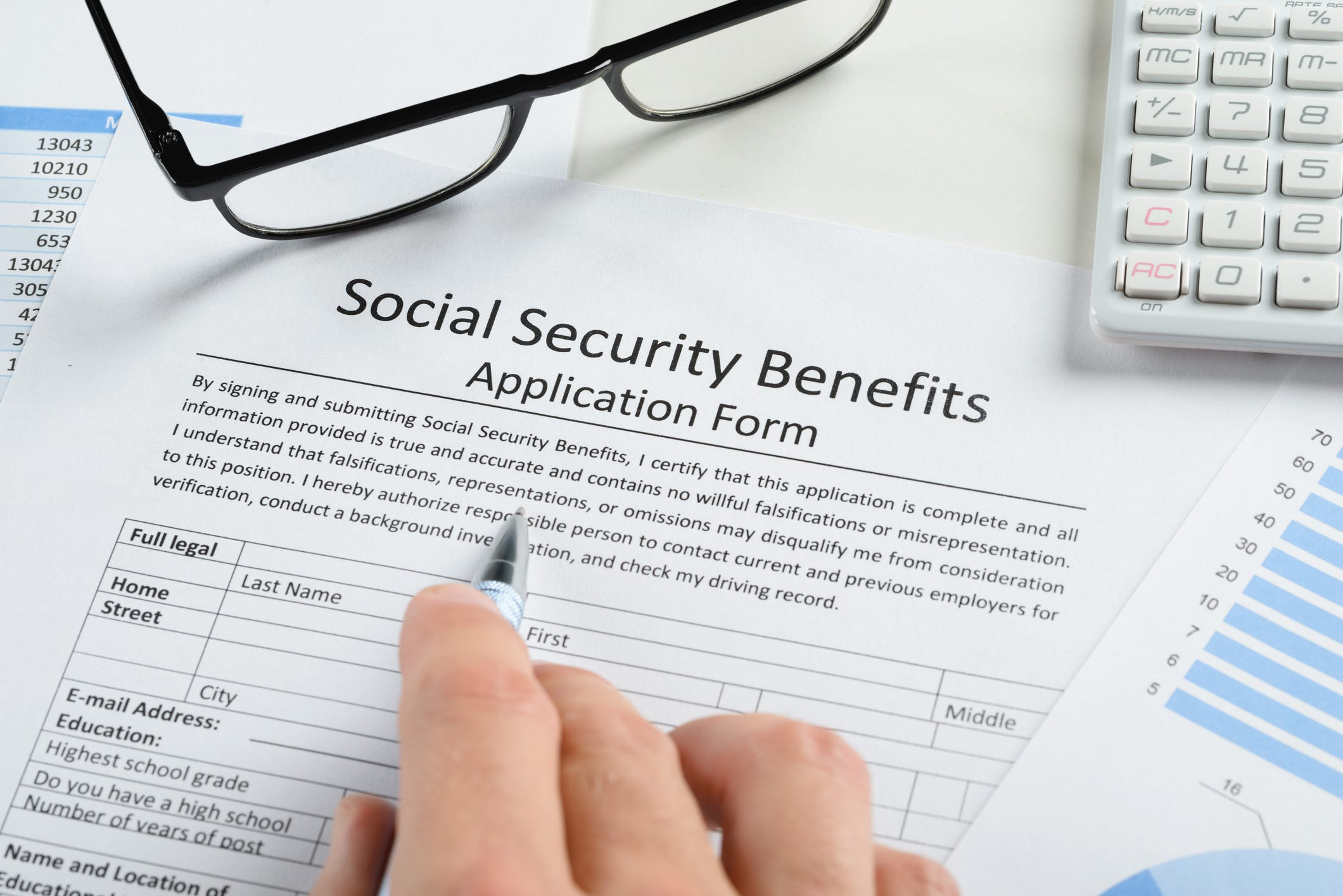 photograph relating to Social Security Disability Application Form Printable referred to as The ins and outs of utilizing for Social Basic safety positive aspects