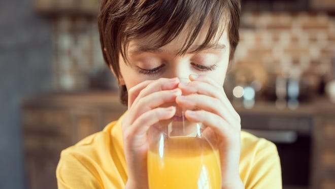 Kids 4 to 6 years old should be limited to four to six ounces of fruit juice daily.