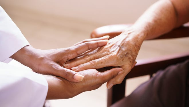 Caring for the elderly.