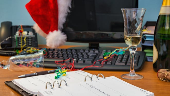 Holiday office parties are a time when manners and self-control matter.