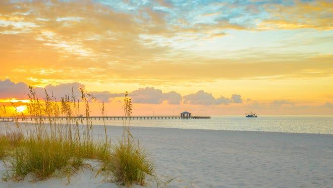 Gulfport Mississippi beach