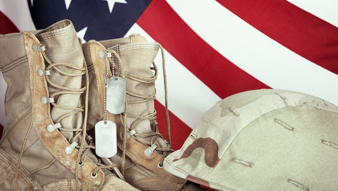 Today isn't a day to get a smokin' deal on a Ford F-150 pickup. It's a day to remember heroes who never came home.