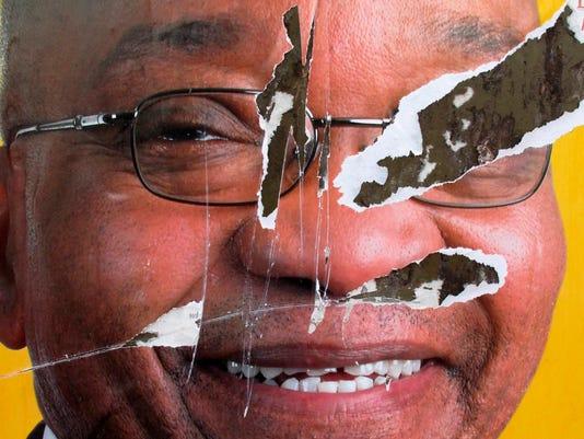 EPA (FILE) SOUTH AFRICA PRESIDENT POL GOVERNMENT ZAF