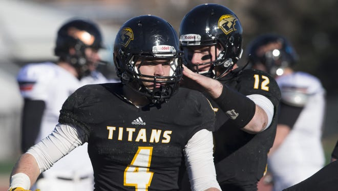 Dylan Hecker and the rest of the UW-Oshkosh Titans will face UW-Whitewater today in an NCAA Division III national quarterfinal.