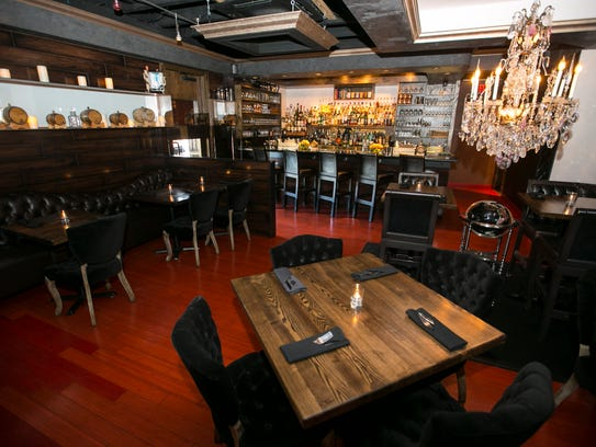The interior of the Second Story Liquor Bar in Scottsdale
