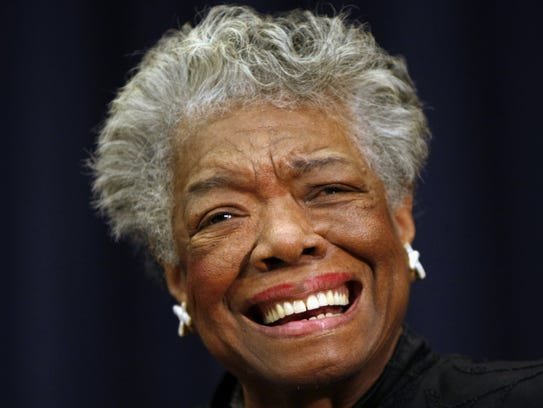 This Nov. 21, 2008 file photo shows poet Maya Angelou