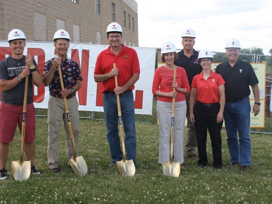 Ground was broken for the TAG Center expansion in Mayville