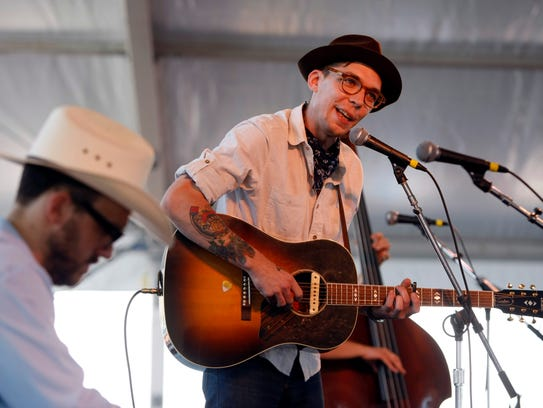Justin Townes Earle is the headliner at Saturday's