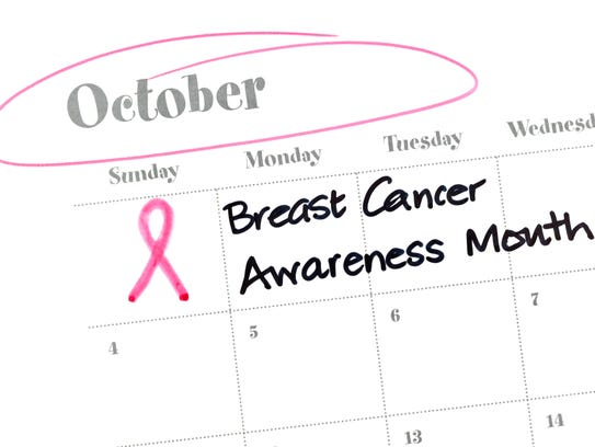 """""""October is Breast Cancer Awareness Month"""""""