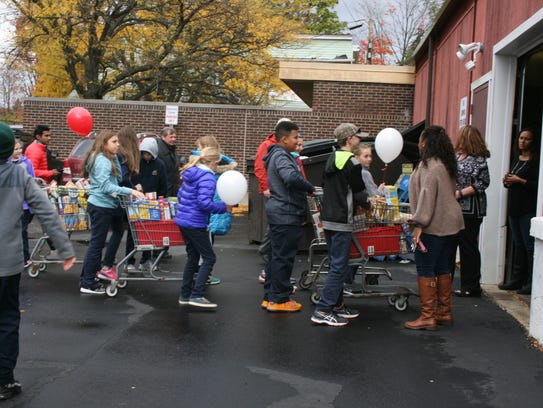 The 15th annual March Out Hunger arrives Tuesday at