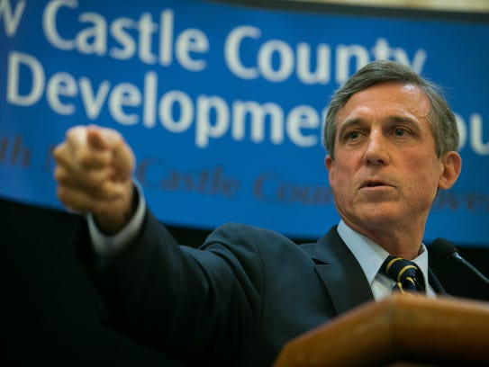 Governor-elect John Carney says he is monitoring the