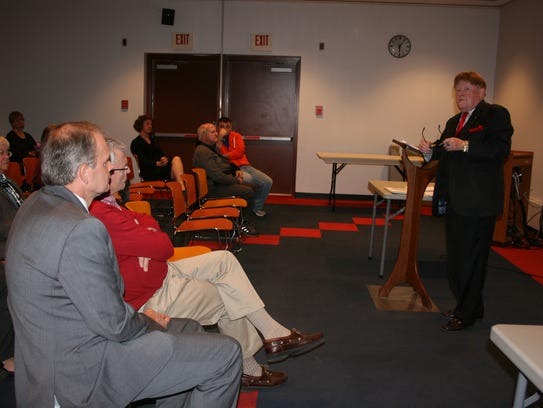 About 50 community members attended a forum on First
