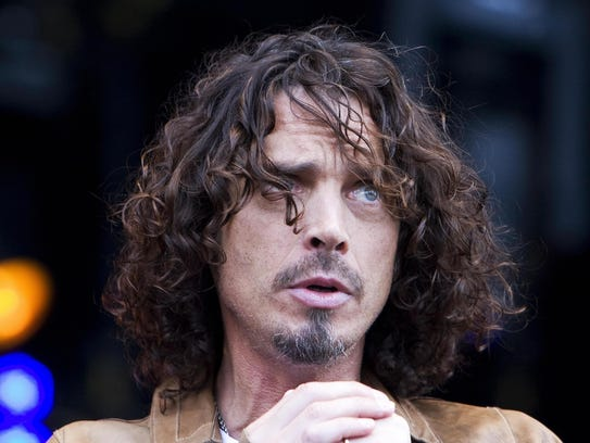 Chris Cornell performs in concert at Pinkpop 2009,