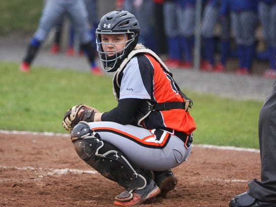 Allie Teeple is among several key seniors for Gibsonburg.