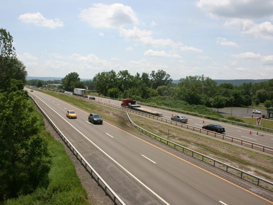 Vehicles travel July 7 on Interstate 86 in Horseheads.