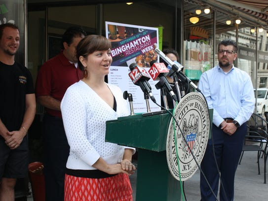 Amelia LoDolce, VINES executive director, speaks about