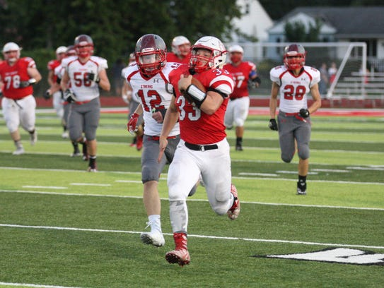 Port Clinton's Cooper Stine was first-team all-SBC in the Bay Division.