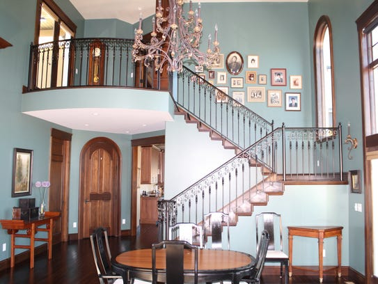 Specialty Iron Works will do custom ironwork like this