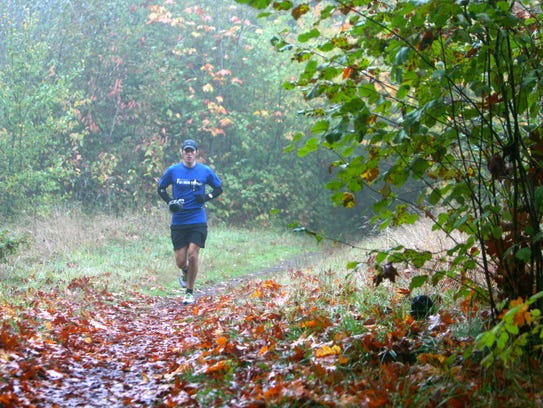 The annual Autum Leaves Run includes a 50K and 50-mile
