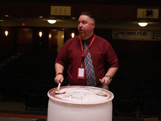 Robert Crissman is the director of Smash at East Middle School in Binghamton.
