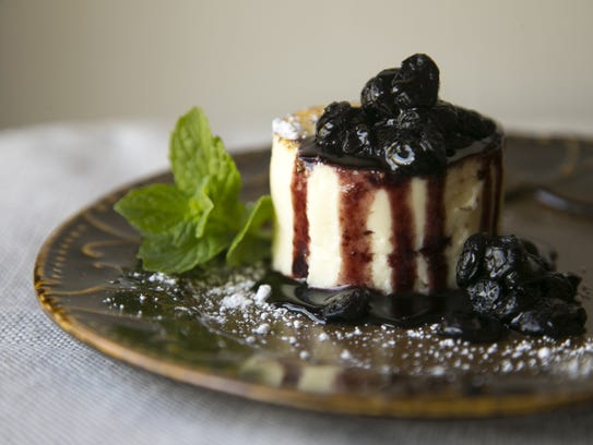 Litchfield's Japanese Cotton Cheesecake.