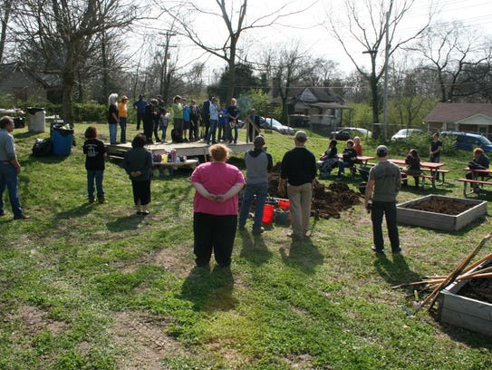 Sponsors and volunteers gathered Tuesday for the Brandon