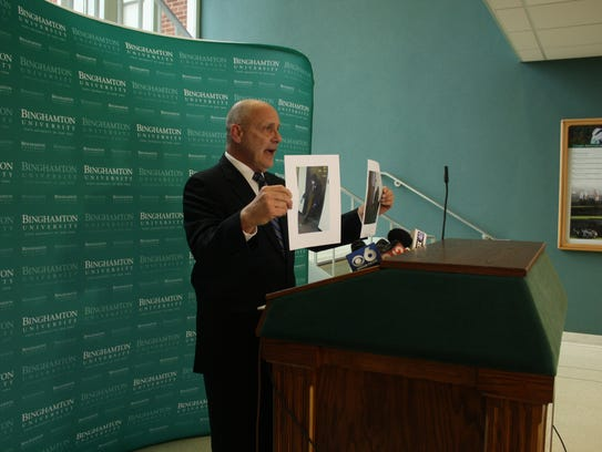 Binghamton University Police Chief Timothy Faughnan