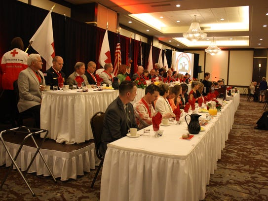 A total of 20 local heroes were honored at the Ninth