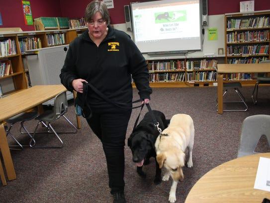Rhonda Ashley, a Curriculum Instructor/AIS Service