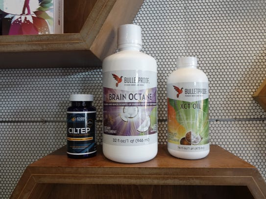 Brain Octane Oil and other products sold at Bulletproof
