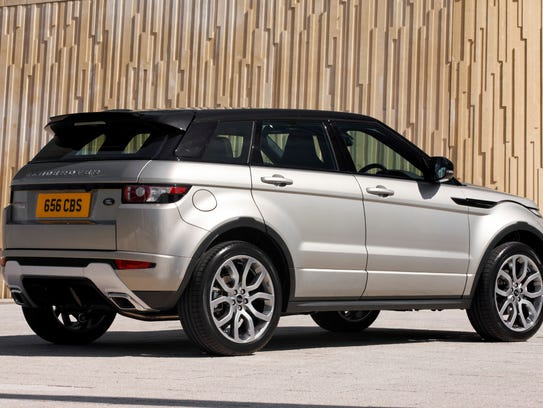 The 2017 Range Rover Evoque Saves Weight With Composite