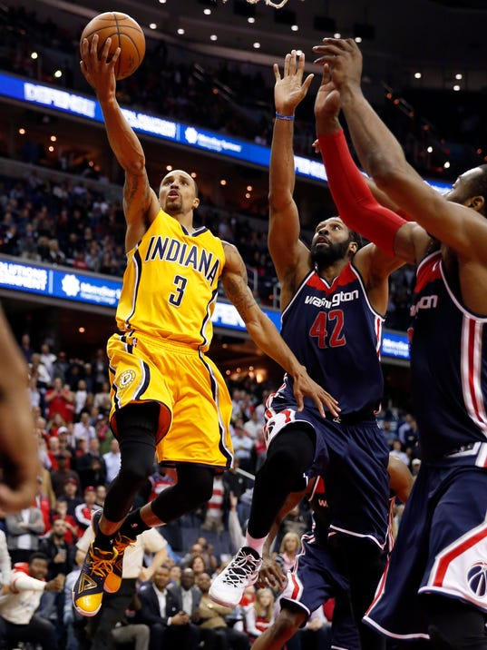 Hill's layup beats Wizards, ends Pacers' victory drought