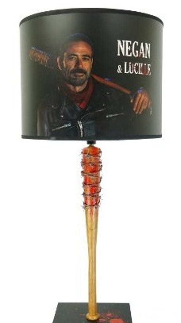 "This ""The Walking Dead"" lamp is available for $79.95 at Amazon.com."