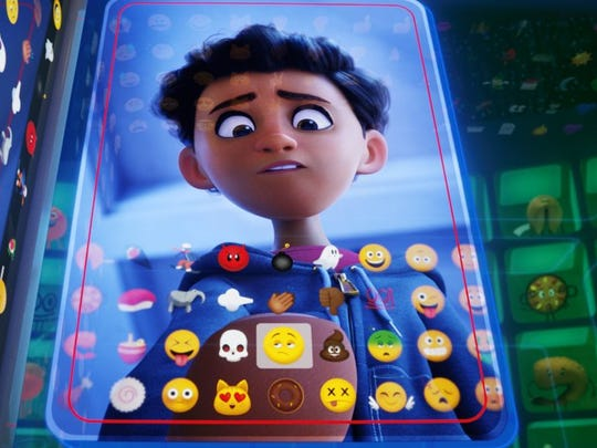 """Alex is one of the (animated) humans in """"The Emoji Movie."""""""
