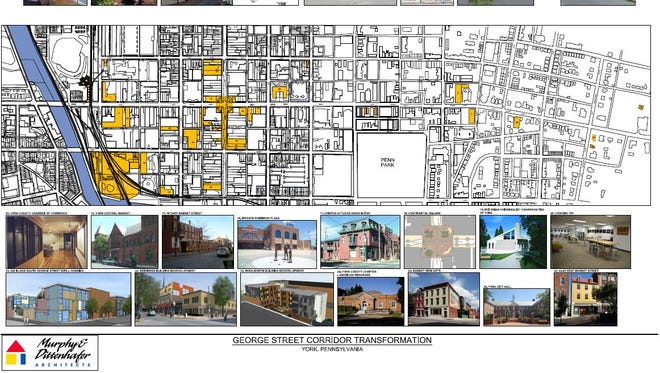 York's George Street corridor has seen many changes over the past 30 years.