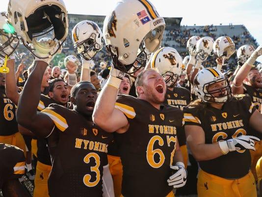 NCAA Football: Air Force at Wyoming