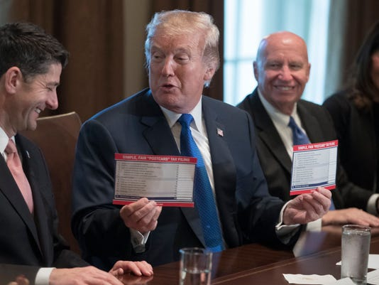 EPA USA TRUMP HOUSE REPUBLICANS TAX PLAN POL GOVERNMENT USA DC